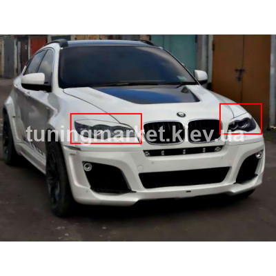 Ресницы BMW X6