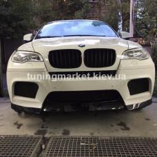 Накладка на М-бампер BMW X6