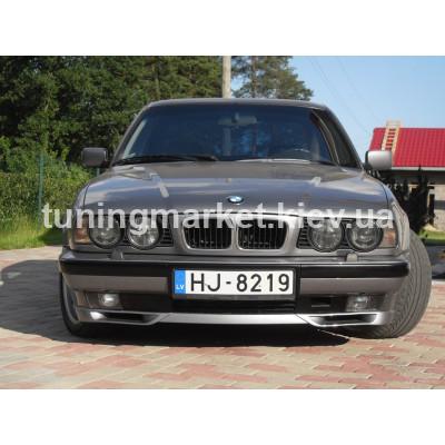 Клыки BMW 540 Е34, вент. каналы на E34