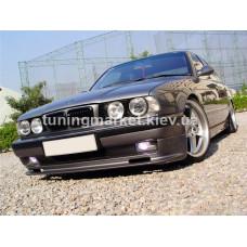Передняя губа Zender на BMW E34