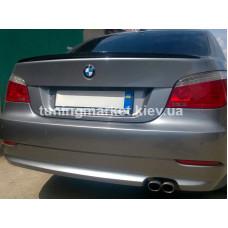 Спойлер крышки багажника BMW 5 series E60