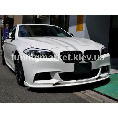 Сплитер переднего M бампера BMW F10