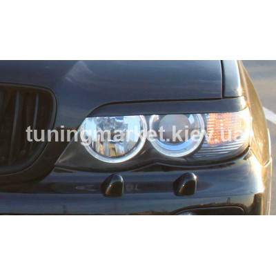 Ресницы на фары дорестайл BMW X5 E53