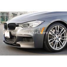 Накладка губа сплитер BMW F30