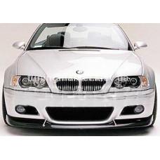 Передний диффузор на бампер BMW E46 M3