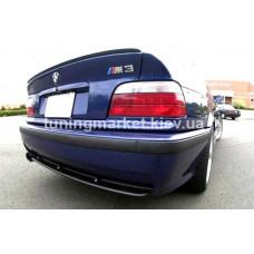 Диффузор на задний бампер BMW E36