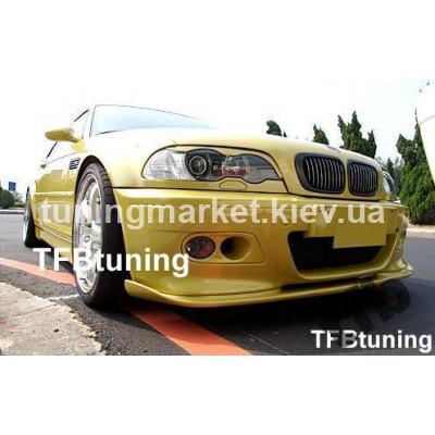 Передний спойлер BMW E46