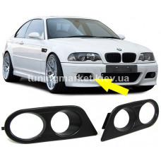 Накладки противотуманных фар для BMW E46 M3