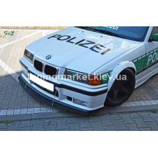 GTR сплиттер BMW E36