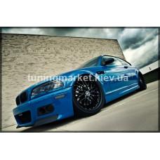 Элероны на передний бампер BMW E46 CSL M3