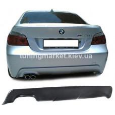 Накладка под задний бампер BMW E60
