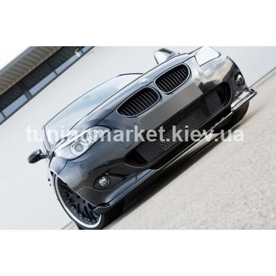 Диффузор под бампер BMW E60