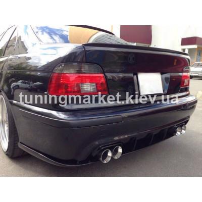 Задняя губа накладка BMW E39