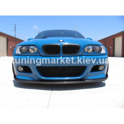 Сплиттер, накладка BMW E46